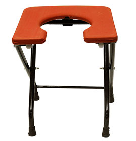 Folding Commode Stool (Square)