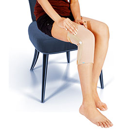 Hinge Knee Support - Tubular Type