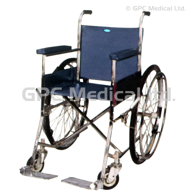 Invalid Wheel Chair (Folding) Super Deluxe